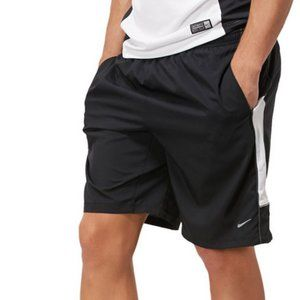 "Nike Running Black 9"" Woven Warm Up Shorts"